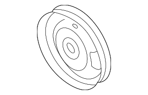 Pump Pulley - Nissan (49132-AD100)