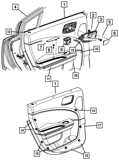 2013 Dodge Avenger Cabin Filter