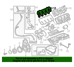 Valve Cover Gasket - GM (12628569)