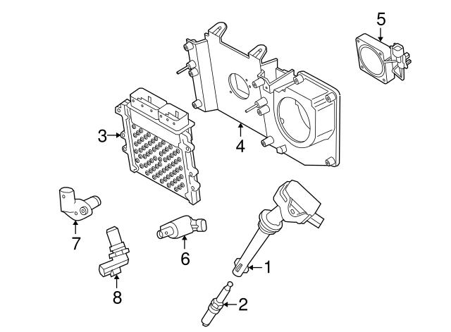 2010 2017 Land Rover Spark Plug Lr032080