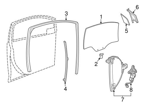 Oem 2013 Chevrolet Spark Front Door Parts