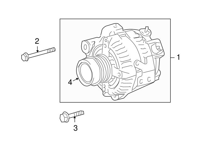 scion xb alternator adjuster