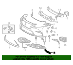 Air Deflector - Lexus (53852-06131)