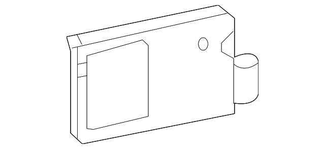genuine honda radar assembly  l 36936