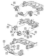 Trailer Tow Receiver Kit - Mopar (82212510)