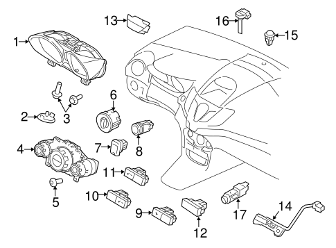 Electrical/Headlamp Components for 2017 Ford Fiesta #2