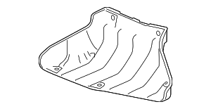 Guide, Cooling - Honda (17245-RTW-000)