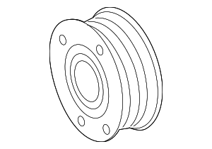 Pulley - Mercedes-Benz (000-234-27-12)
