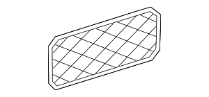 Cargo Net - Mercedes-Benz (168-814-00-07-9G21)
