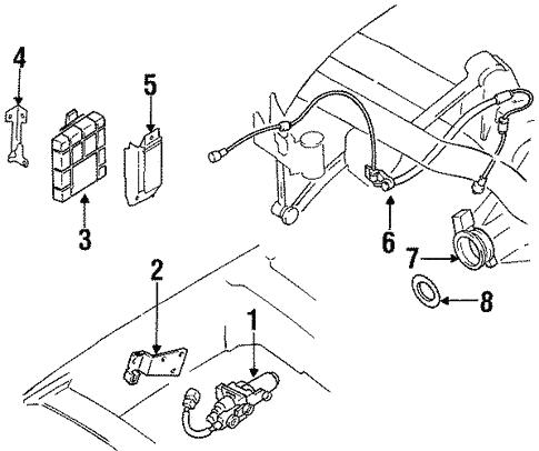 Anti Lock Brakes For 1997 Nissan Pickup