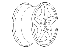 Wheel, Alloy - GM (9593750)