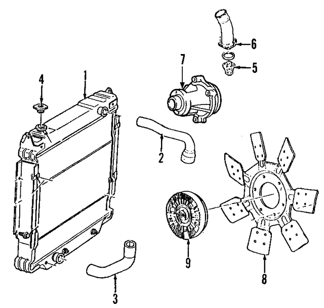 Fan Clutch Diagram