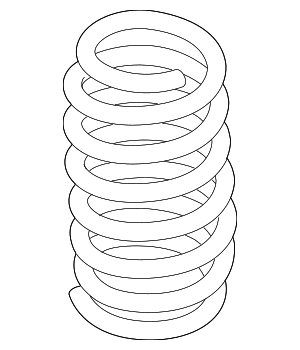 Coil Spring - Ford (G3GZ-5560-F)