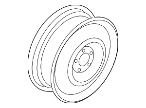 Wheel, Steel - Subaru (28111FL03A)