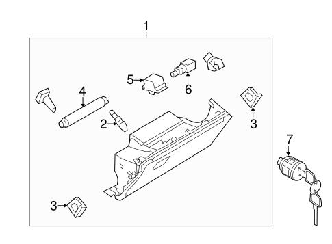 glove box parts for 2014 infiniti qx80 grubbs infiniti parts. Black Bedroom Furniture Sets. Home Design Ideas