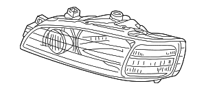 Headlight Unit, R - Acura (33101-S3V-A01)