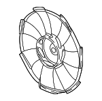 2016-2017 HONDA CIVIC (LX AND EX 2.0L) Cooling Fan