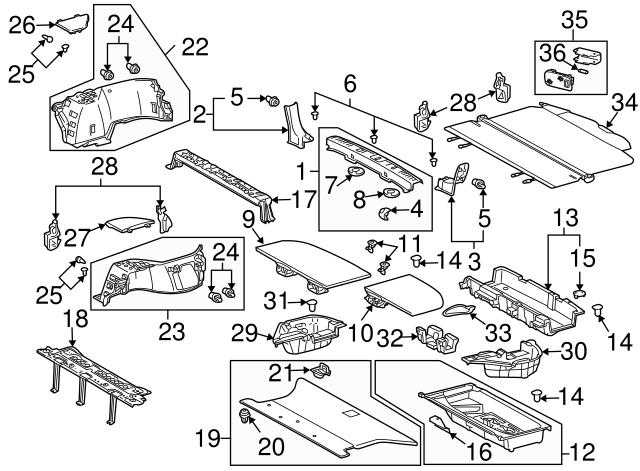 2004 2018 Lexus Side Trim Panel Clip 90467 06020 C0