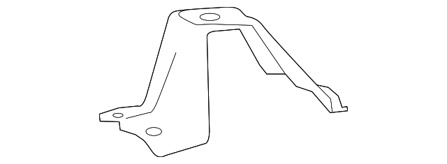 TOYOTA 51912-0R010 Spare Wheel Carrier Bracket