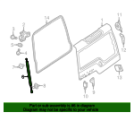 Support Cylinder - Land-Rover (LR086368-FP)