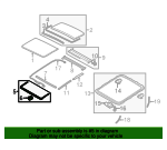 Air Deflector - Volvo (31298856)