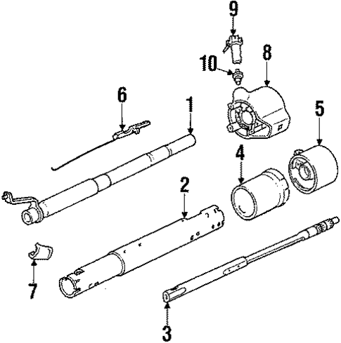 Steering Column Assembly Scat