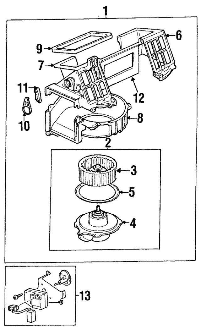 Buy Heater Blower Motor Fan Genuine Part Shop Every Store On The