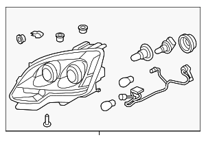 Headlamp Assembly - GM (25826764)