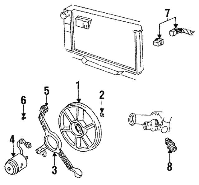 Coolant Sensor Question: Coolant Temp Sensor - GM (15326386)