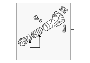 Oil Filter Housing - Kia (26310-3LTA0)