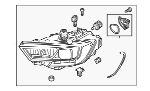 Headlamp Assembly - Audi (8V0-941-773-E)
