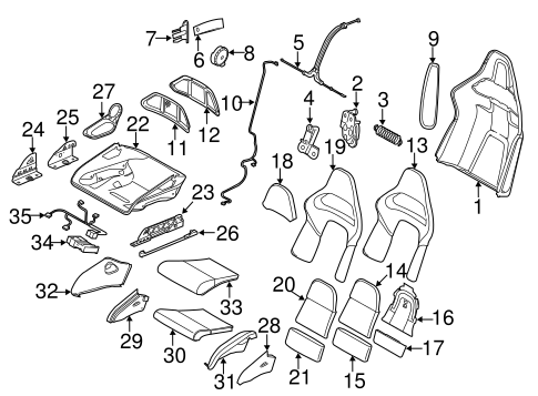Air Bag Components For 2010 Porsche Cayman