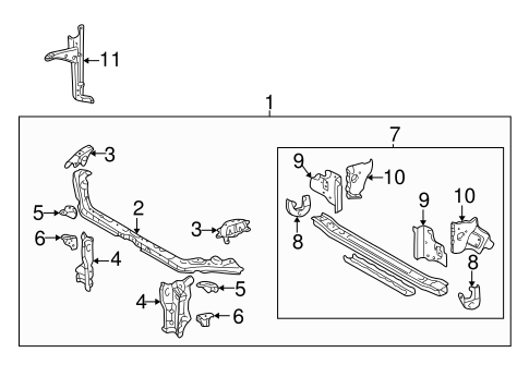 Side Panel Support Bracket
