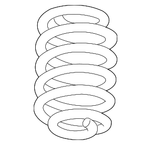 Coil Spring - GM (23154240)