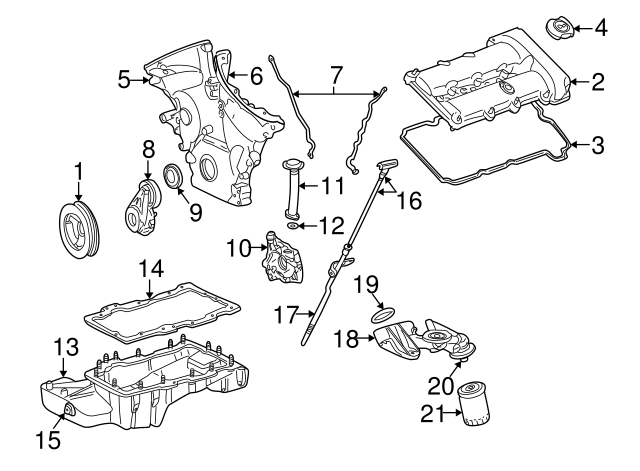 1992 2016 Ford Adapter Insert F1az 6890 A