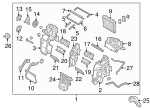 AC & Heater Assembly - Kia (97205-D9332)