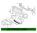 Tow Bracket Cover - Land-Rover (LR002155)