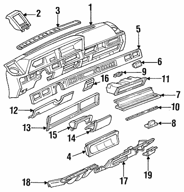 pontiac tran sport fuse box location
