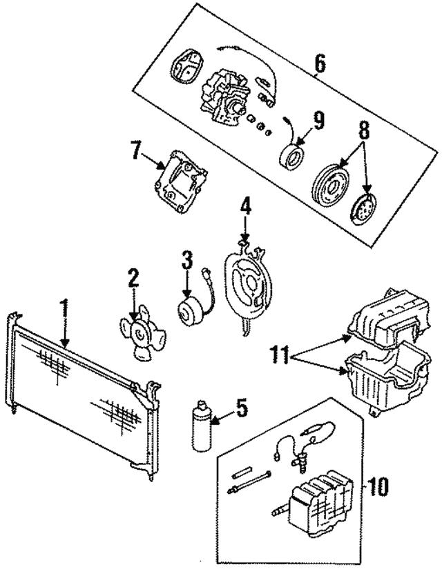 1988 1991 Honda Coil Field 1 Wire Sanden 38924 Pm5 S01