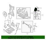 Oil Filter Housing - Mazda (LF03-14-310A)