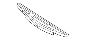 Wiper Blade - Mercedes-Benz (463-820-05-45)