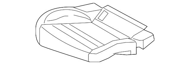2011 2016 Porsche Panamera Cushion Cover 970 522 161 C2 Dal