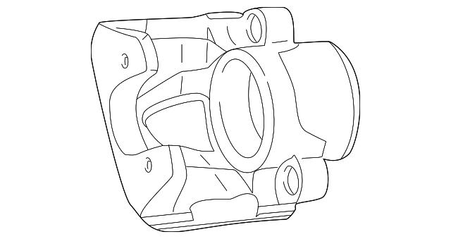 2001 2010 Chrysler Pt Cruiser Caliper 5017833aa