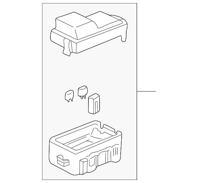 box assembly  abs fuse