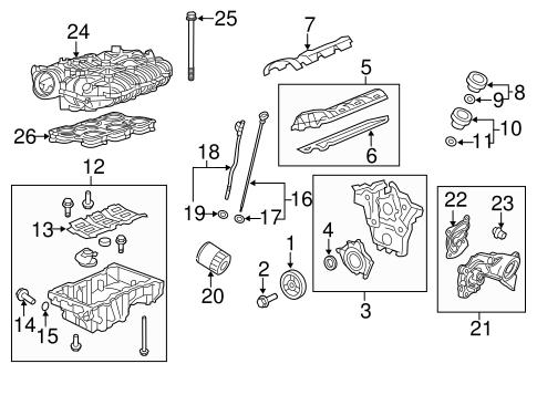 oem 2016 cadillac srx engine parts parts