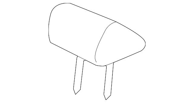 Honda Genuine 81731-S0X-A51ZA Seat Cushion Trim Cover Left Middle