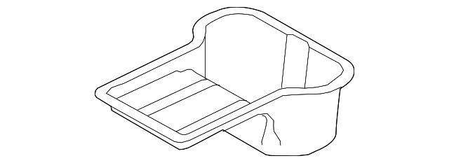 genuine ford oil pan 3c3z