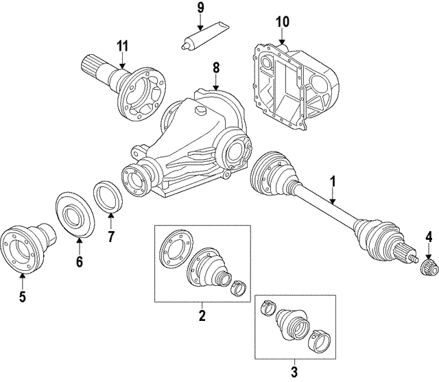 Universal Joints - BMW (26-11-1-227-869)