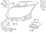 Composite Assembly - Lexus (81145-60Q00)