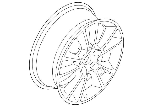 2008 saturn astra wheel alloy 13288965 xportauto 2008 Saturn Astra Engine wheel alloy gm 13288965